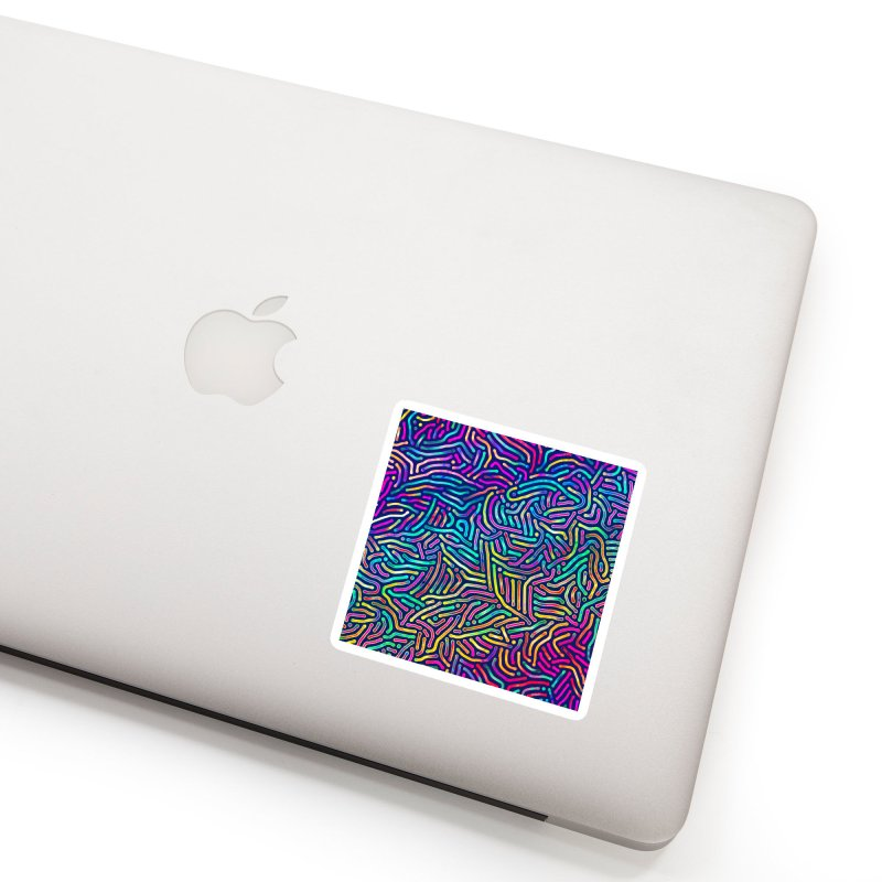 Colorful Pattern Accessories Sticker by Art Design Works