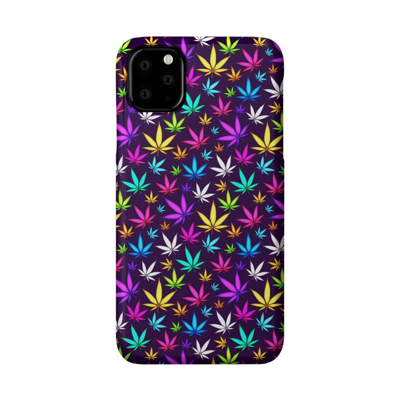 Colorful OG Herb Pattern Accessories Phone Case by Art Design Works