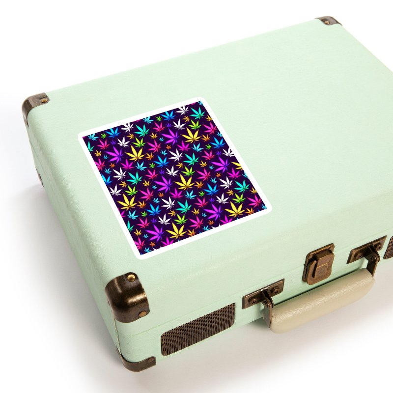 Colorful OG Herb Pattern Accessories Sticker by Art Design Works