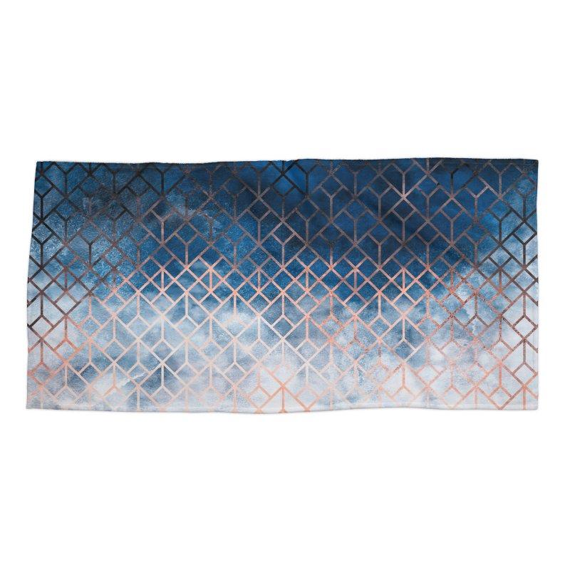 Geometric XII Accessories Beach Towel by Art Design Works