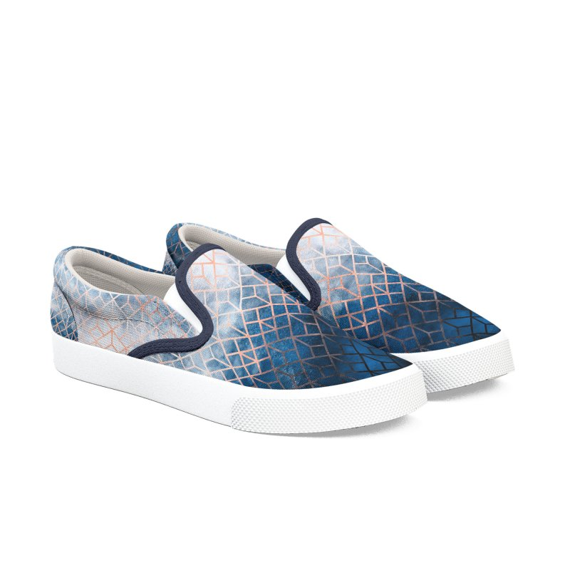 Geometric XII Men's Shoes by Art Design Works