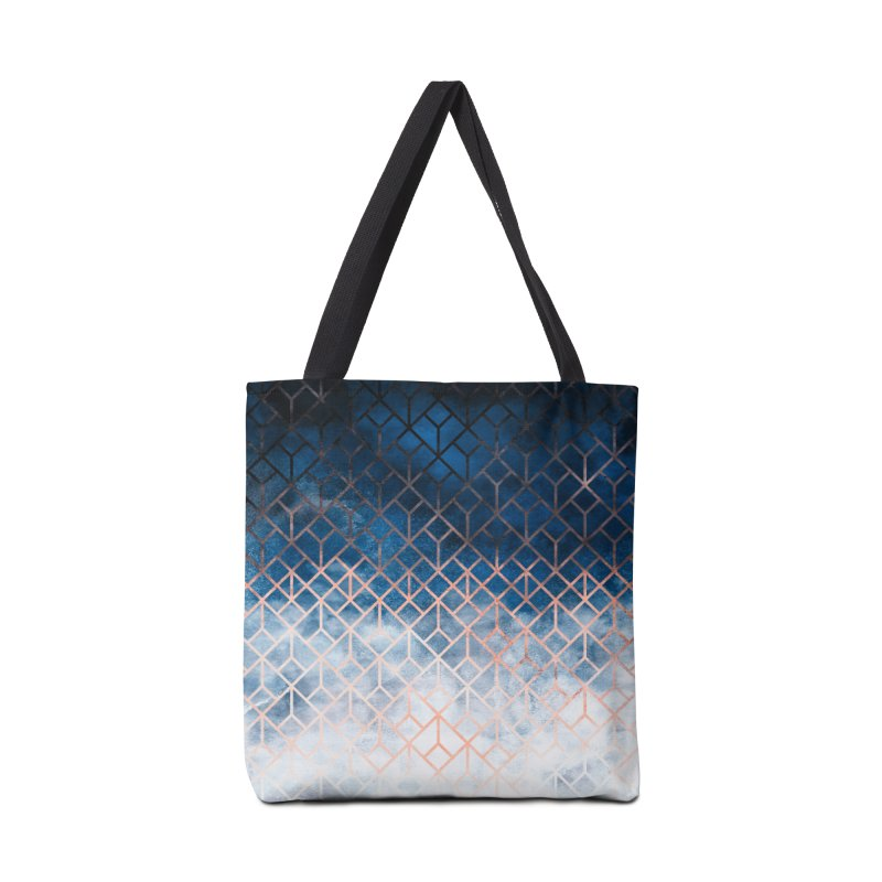 Geometric XII Accessories Bag by Art Design Works