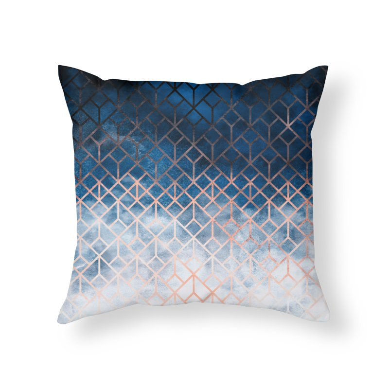 Geometric XII Home Throw Pillow by Art Design Works