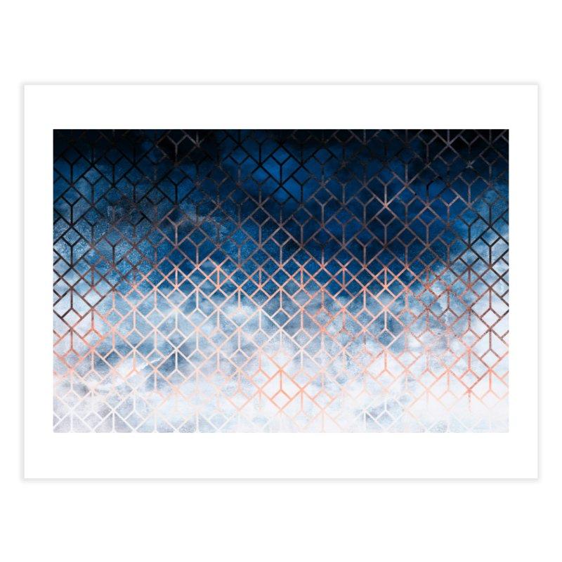 Geometric XII Home Fine Art Print by Art Design Works