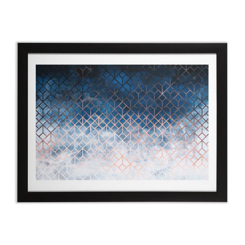 Geometric XII Home Framed Fine Art Print by Art Design Works