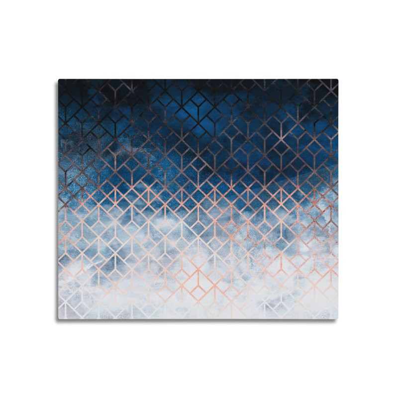 Geometric XII Home Mounted Aluminum Print by Art Design Works