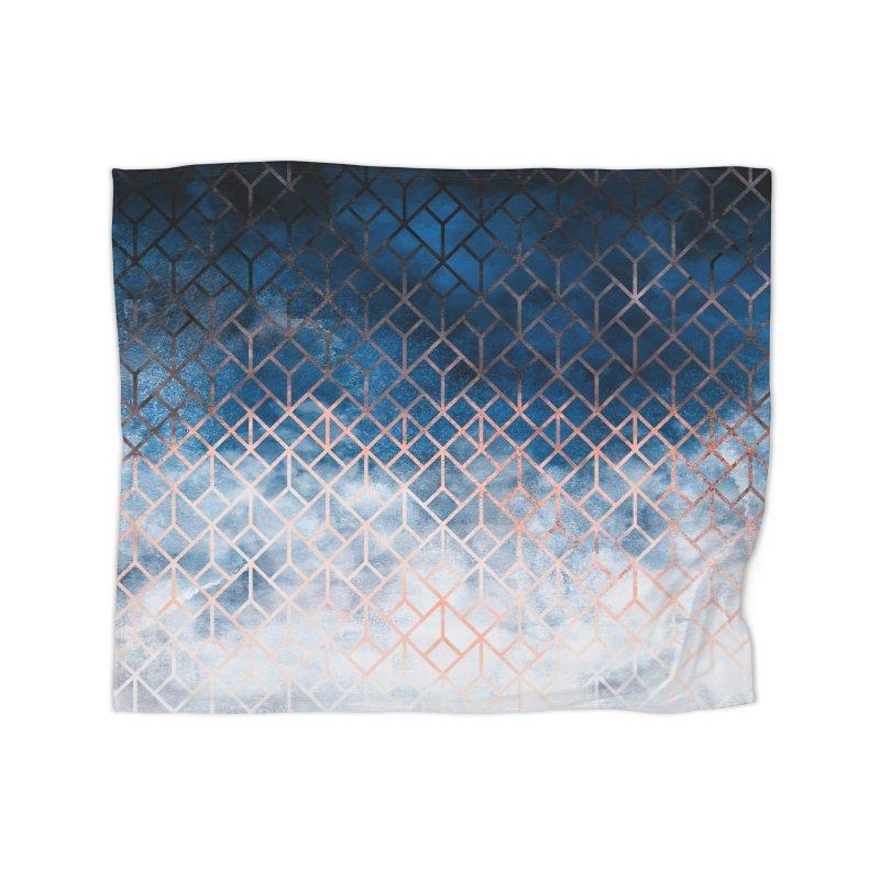 Geometric XII Home Blanket by Art Design Works