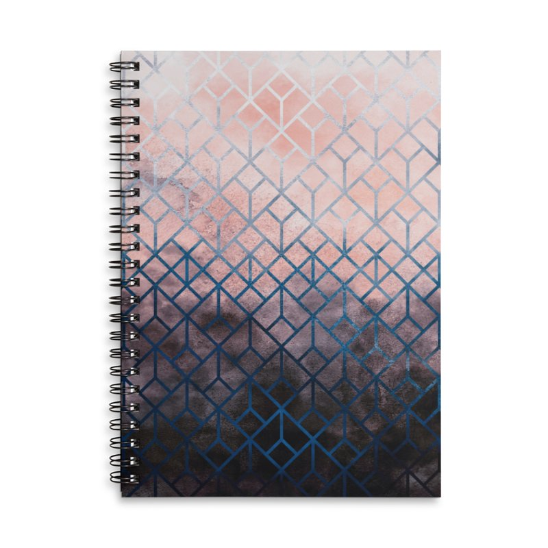 Geometric XI Accessories Notebook by Art Design Works