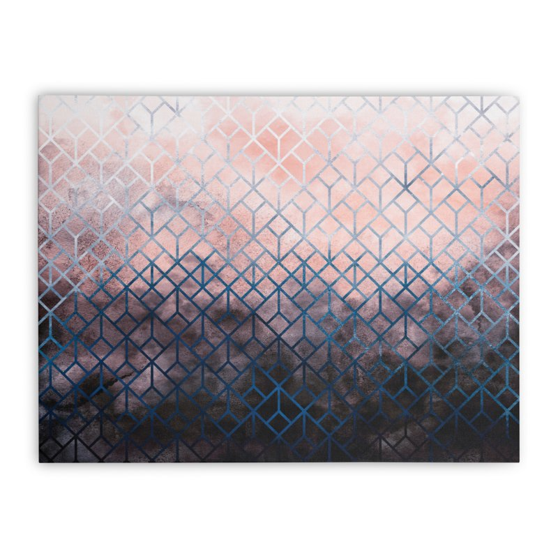 Geometric XI Home Stretched Canvas by Art Design Works