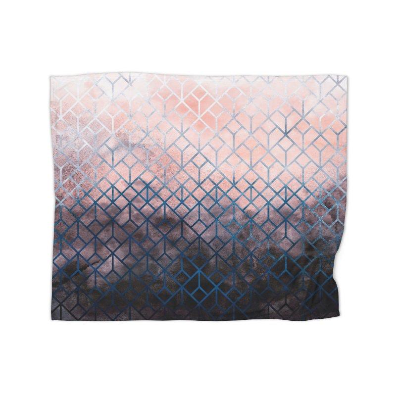 Geometric XI Home Blanket by Art Design Works