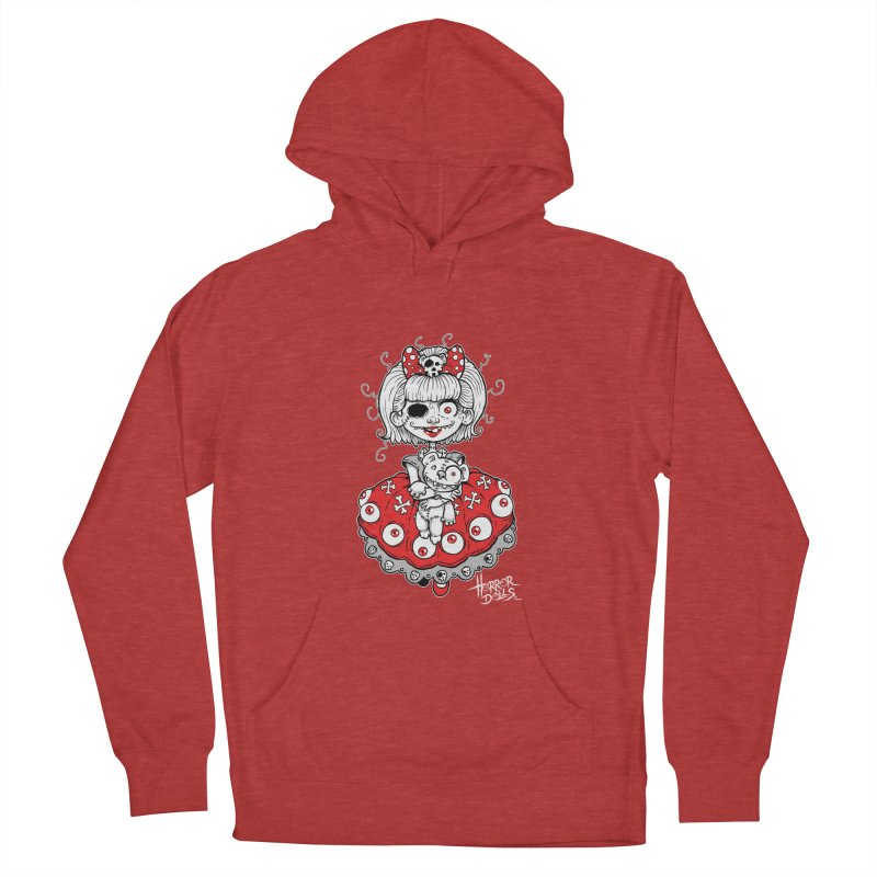 Horror Doll No.1 Men's Pullover Hoody by Artbytobias's Artist Shop