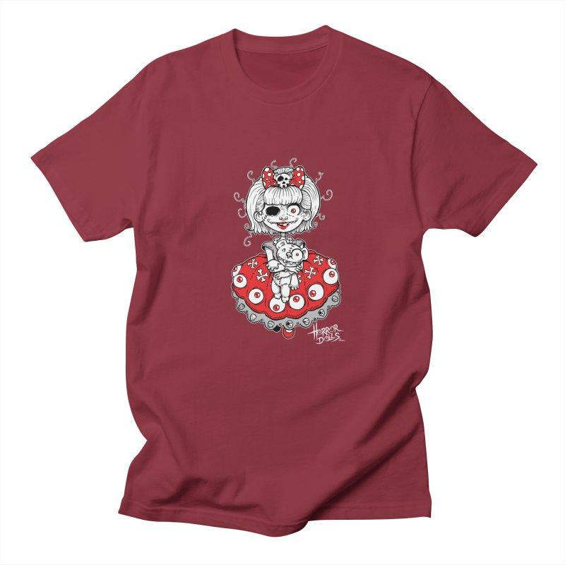 Horror Doll No.1 Men's T-Shirt by Artbytobias's Artist Shop