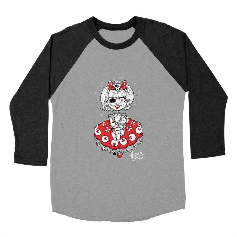 Horror Doll No.1 Women's Baseball Triblend T-Shirt by Artbytobias's Artist Shop
