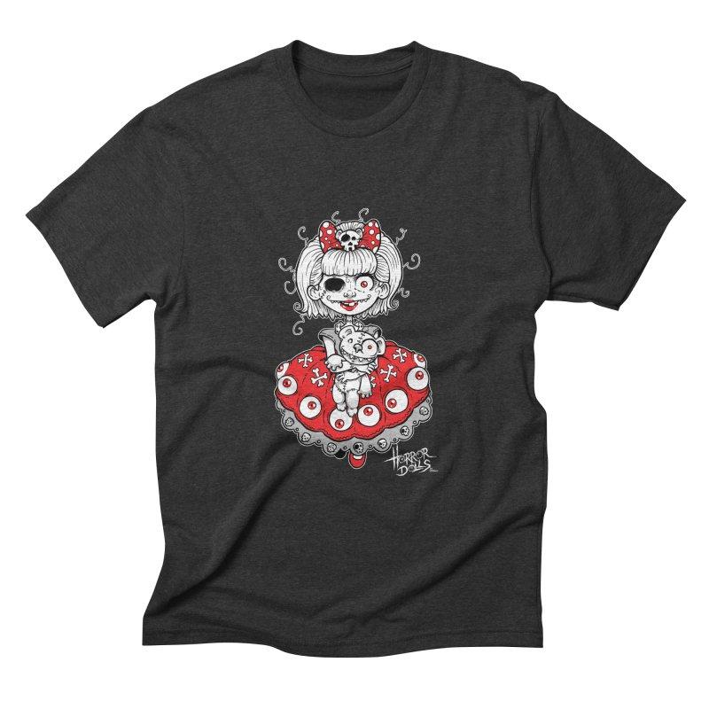 Horror Doll No.1 Men's Triblend T-shirt by Artbytobias's Artist Shop