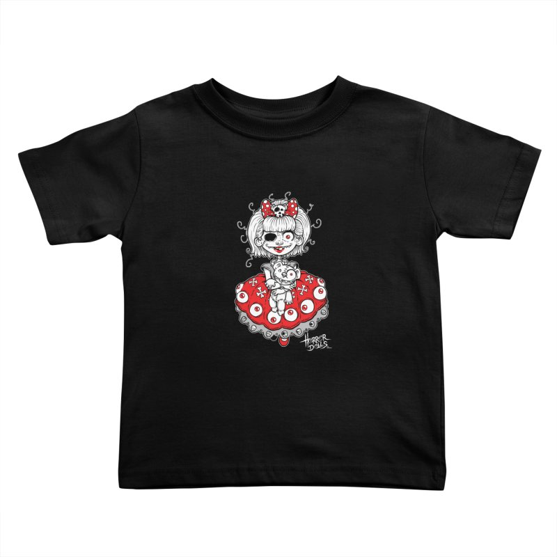 Horror Doll No.1 Kids Toddler T-Shirt by Artbytobias's Artist Shop