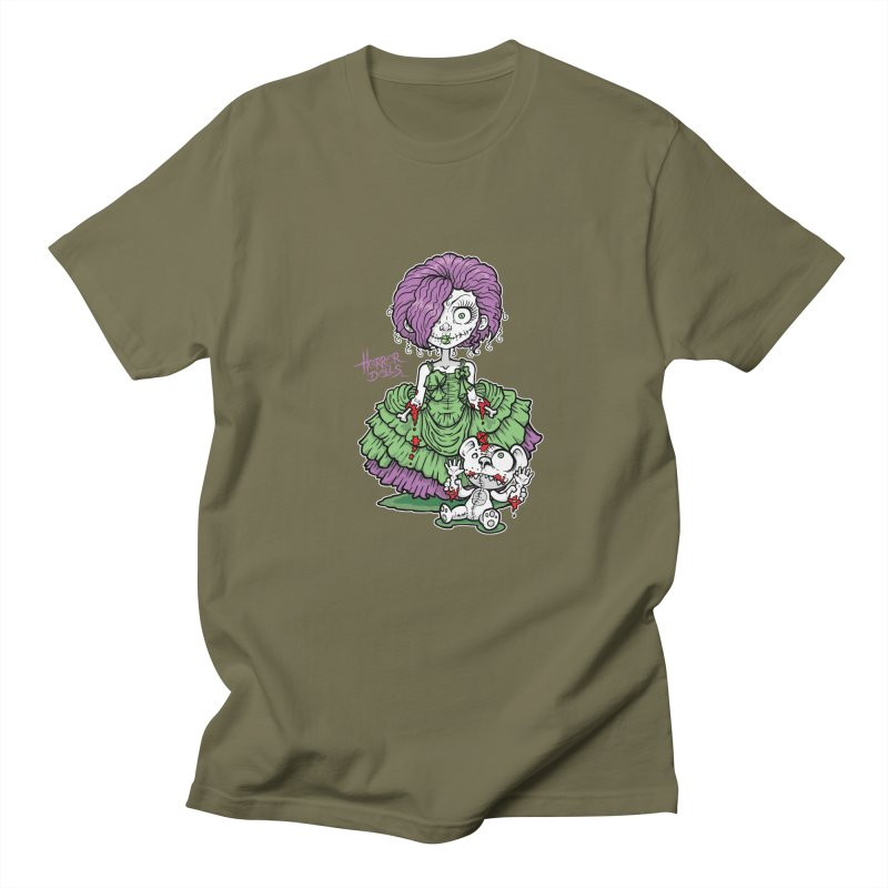 Horror Doll No.2 Men's T-Shirt by Artbytobias's Artist Shop