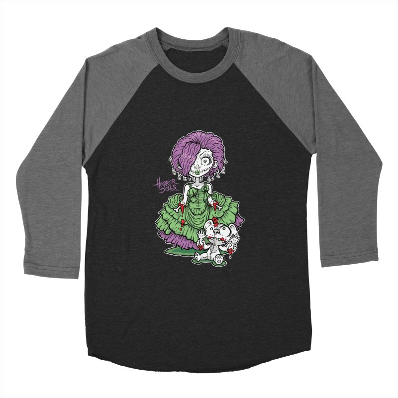 Horror Doll No.2 Women's Baseball Triblend T-Shirt by Artbytobias's Artist Shop
