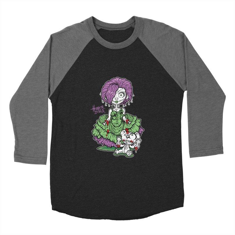 Horror Doll No.2 Men's Baseball Triblend T-Shirt by Artbytobias's Artist Shop