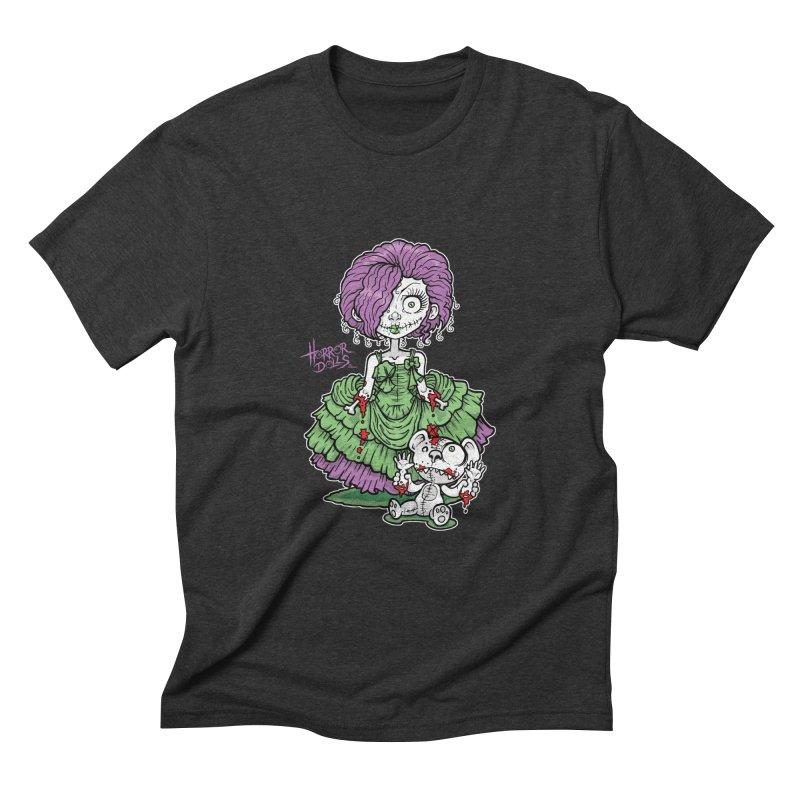 Horror Doll No.2 Men's Triblend T-shirt by Artbytobias's Artist Shop