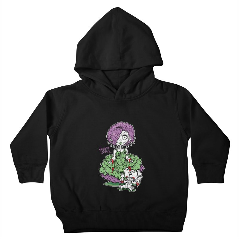 Horror Doll No.2 Kids Toddler Pullover Hoody by Artbytobias's Artist Shop