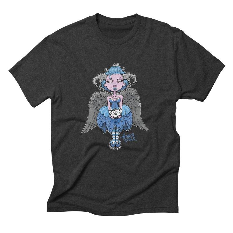 Horror Doll No.3 Men's Triblend T-Shirt by Artbytobias's Artist Shop