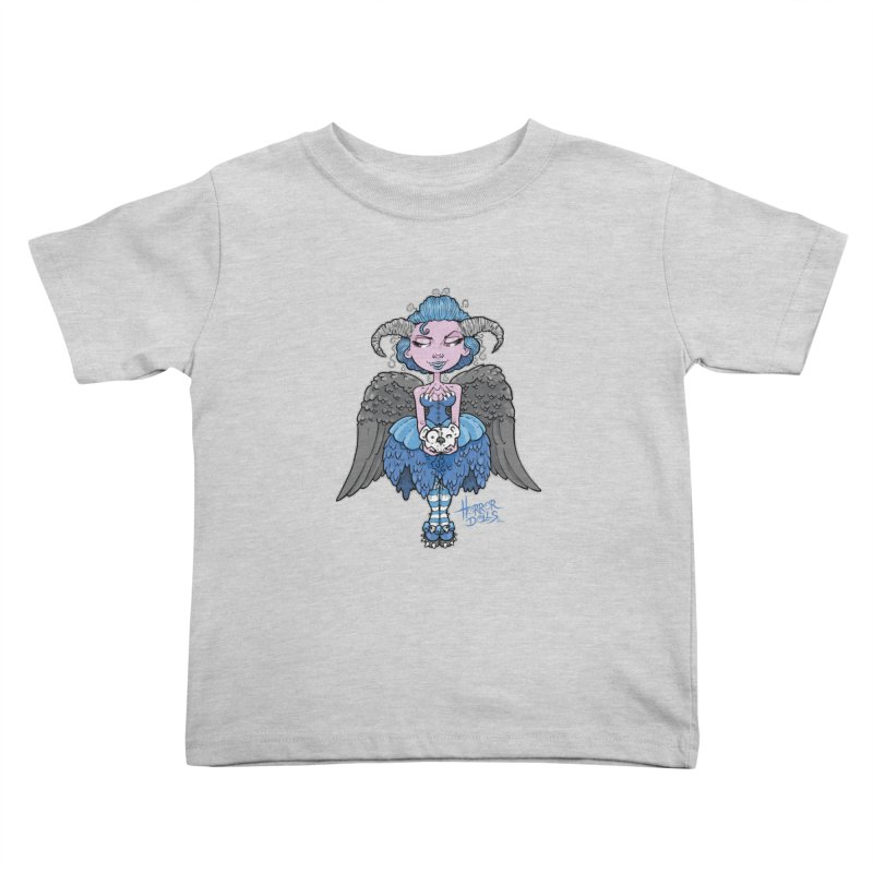 Horror Doll No.3 Kids Toddler T-Shirt by Artbytobias's Artist Shop
