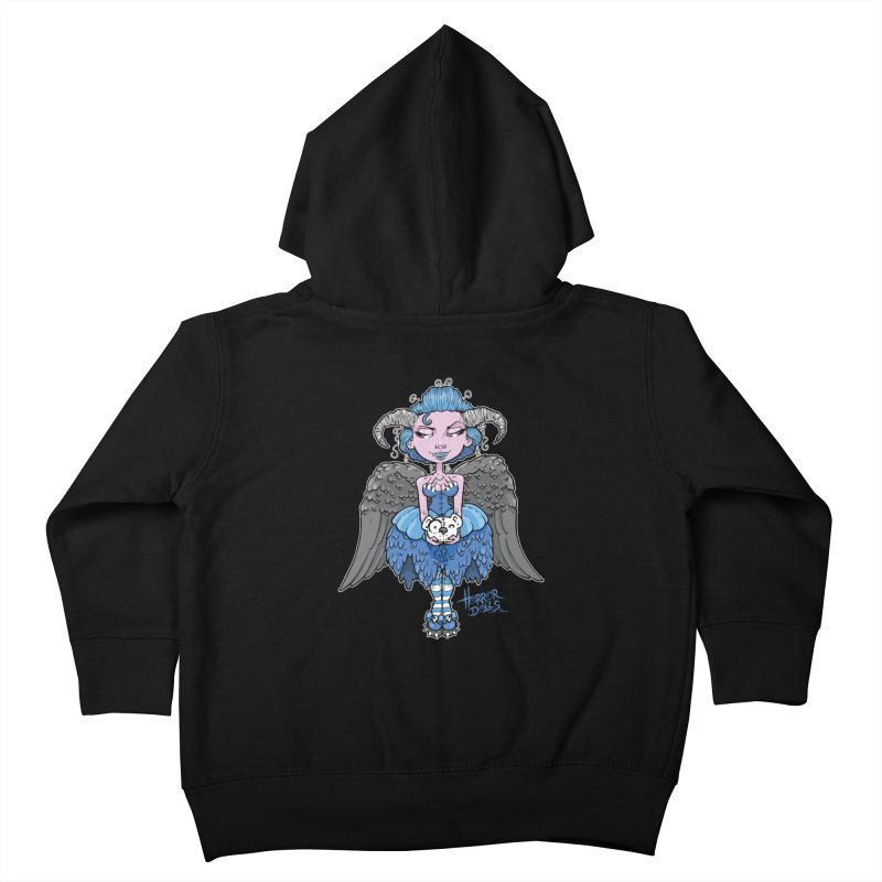 Horror Doll No.3 Kids Toddler Zip-Up Hoody by Artbytobias's Artist Shop
