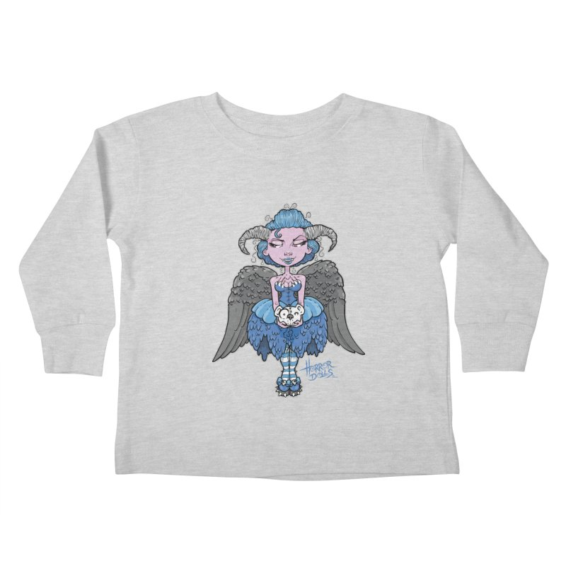 Horror Doll No.3 Kids Toddler Longsleeve T-Shirt by Artbytobias's Artist Shop