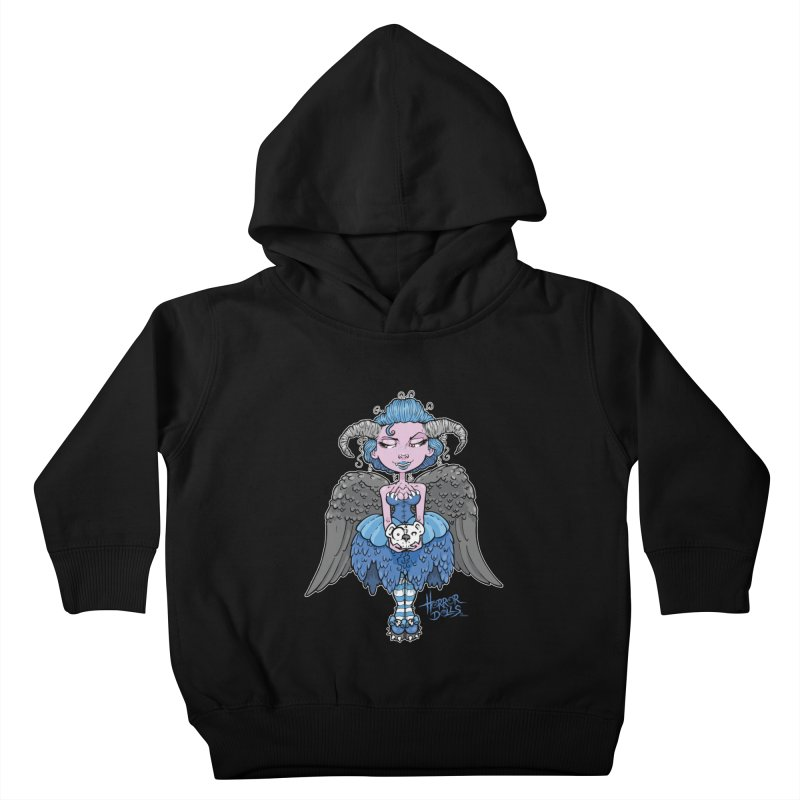 Horror Doll No.3 Kids Toddler Pullover Hoody by Artbytobias's Artist Shop