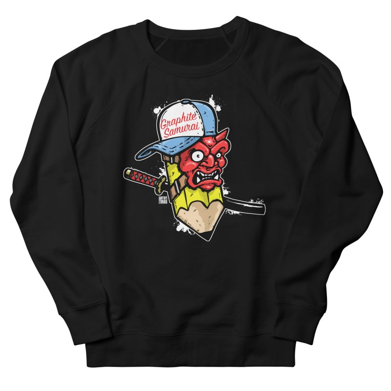 Graphite Samurai 1 Women's French Terry Sweatshirt by Artbytobias's Artist Shop