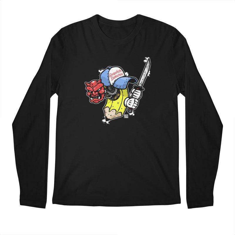 Graphite Samurai 2 Men's Regular Longsleeve T-Shirt by Artbytobias's Artist Shop