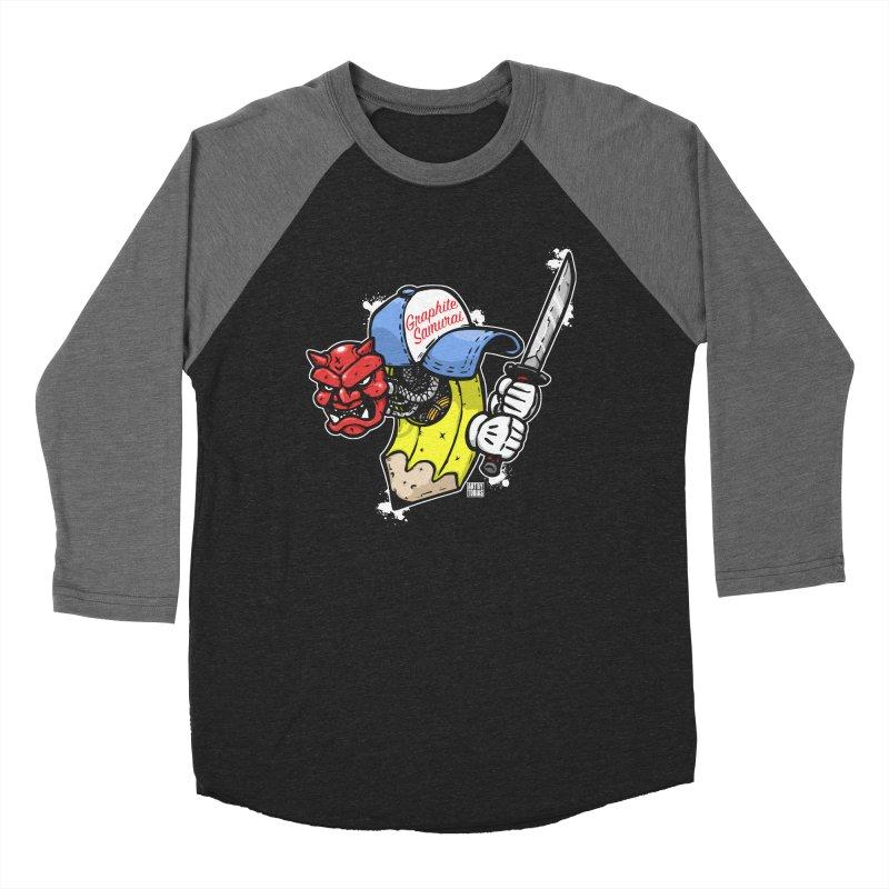 Graphite Samurai 2 Women's Baseball Triblend Longsleeve T-Shirt by Artbytobias's Artist Shop
