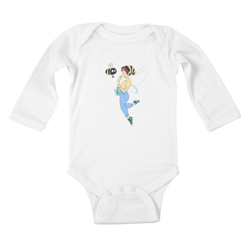 You've Got a Friend In Bee Kids Baby Longsleeve Bodysuit by ArtemisStudios's Artist Shop