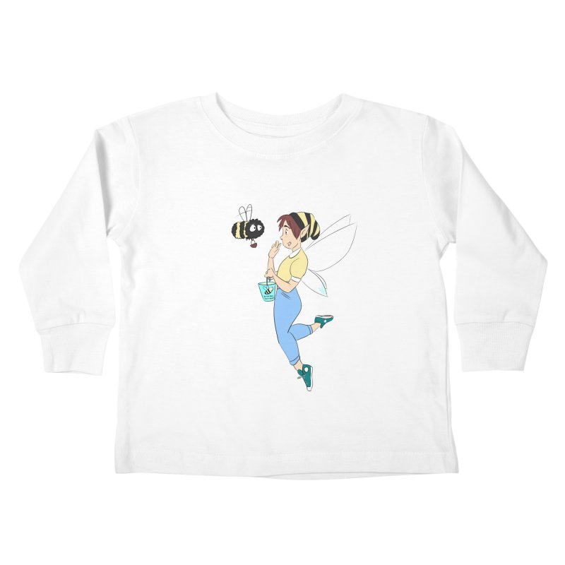 You've Got a Friend In Bee Kids Toddler Longsleeve T-Shirt by ArtemisStudios's Artist Shop