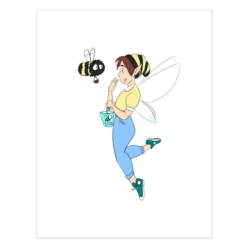 You've Got a Friend In Bee Home Fine Art Print by ArtemisStudios's Artist Shop