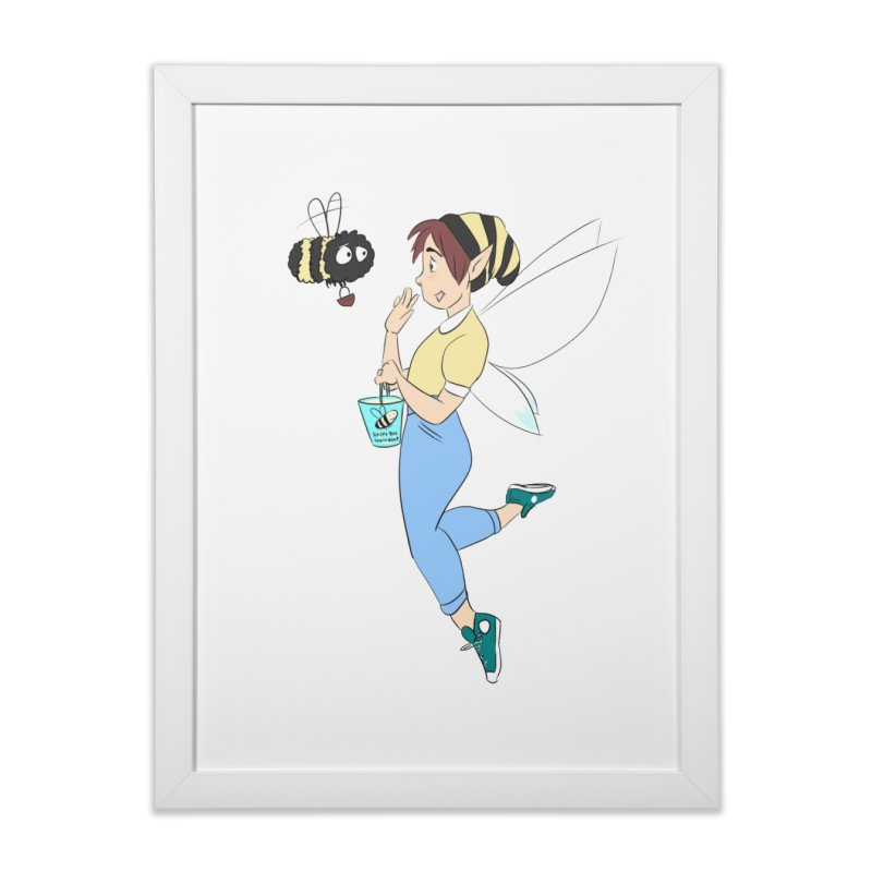 You've Got a Friend In Bee Home Framed Fine Art Print by ArtemisStudios's Artist Shop