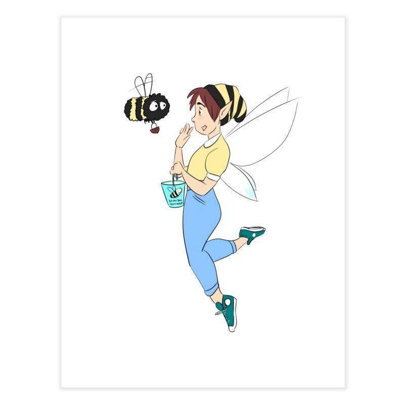 You've Got a Friend In Bee Home Fine Art Print by ArtemisStudios's Artist Shop