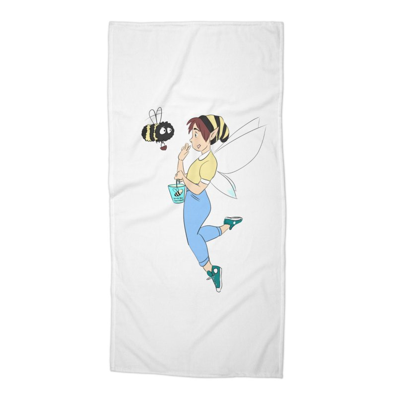 You've Got a Friend In Bee Accessories Beach Towel by ArtemisStudios's Artist Shop