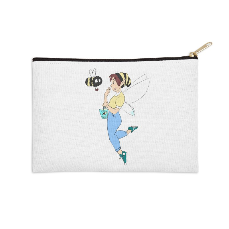 You've Got a Friend In Bee Accessories Zip Pouch by ArtemisStudios's Artist Shop