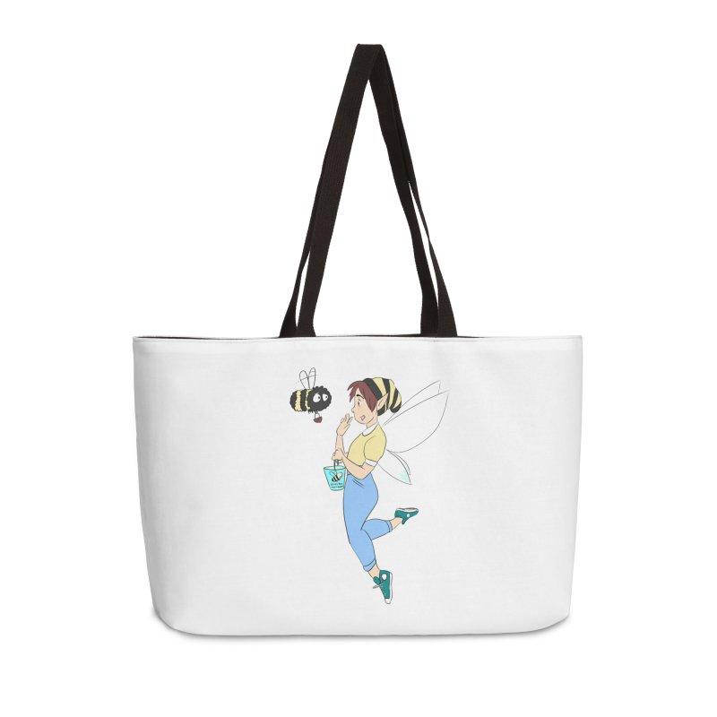 You've Got a Friend In Bee Accessories Weekender Bag Bag by ArtemisStudios's Artist Shop