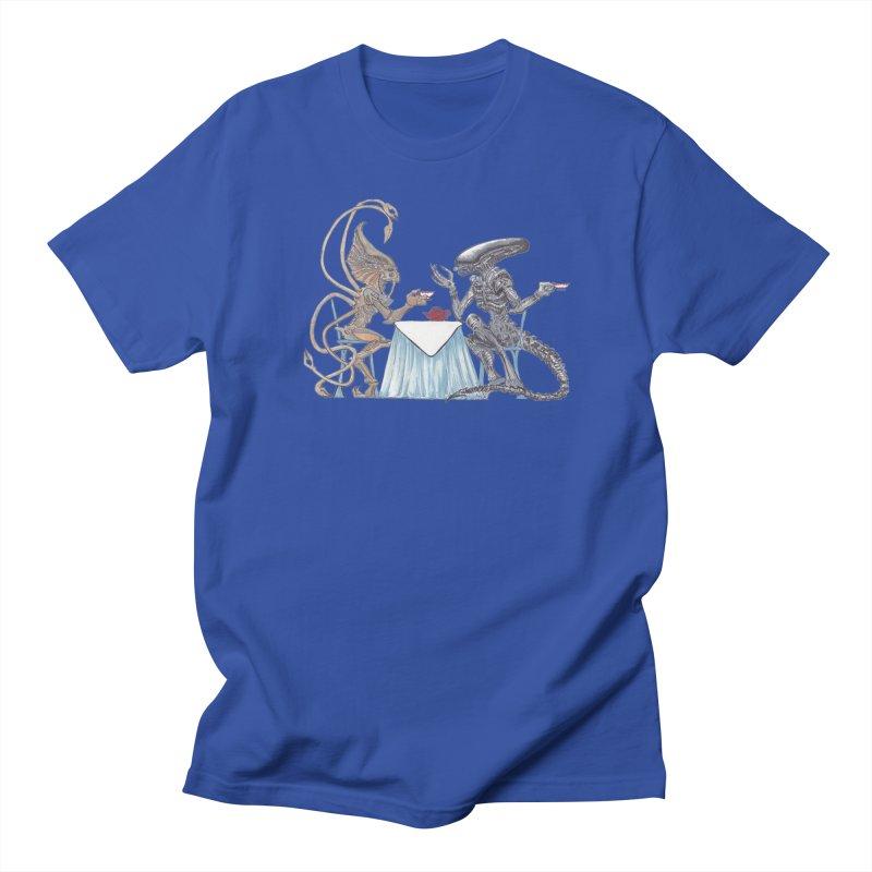 Alien Tea Time Men's T-Shirt by ArtemisStudios's Artist Shop