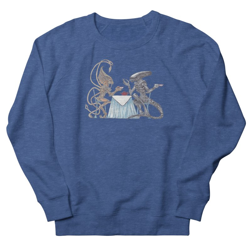 Alien Tea Time Men's Sweatshirt by ArtemisStudios's Artist Shop