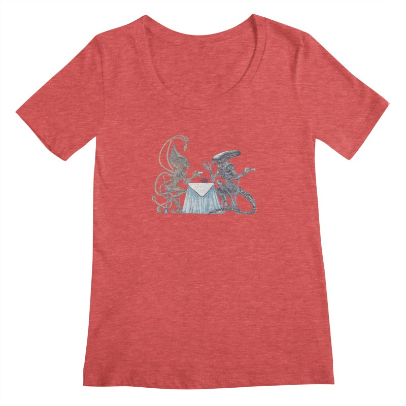 Alien Tea Time Women's  by ArtemisStudios's Artist Shop