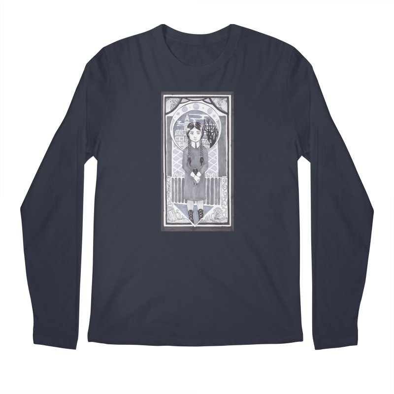 Wednesday Men's Longsleeve T-Shirt by ArtemisStudios's Artist Shop