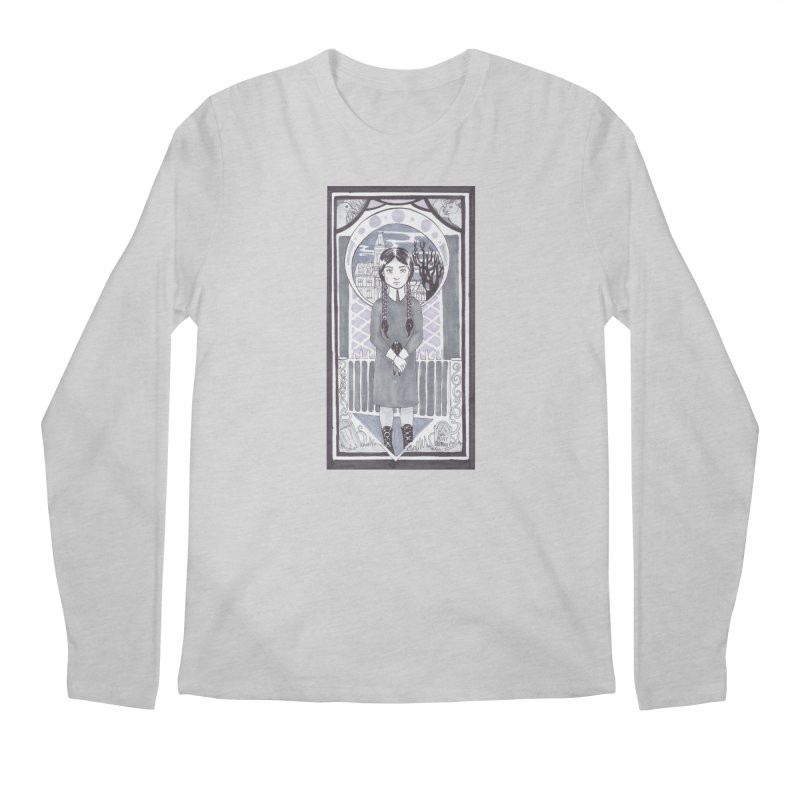 Wednesday Men's Regular Longsleeve T-Shirt by ArtemisStudios's Artist Shop