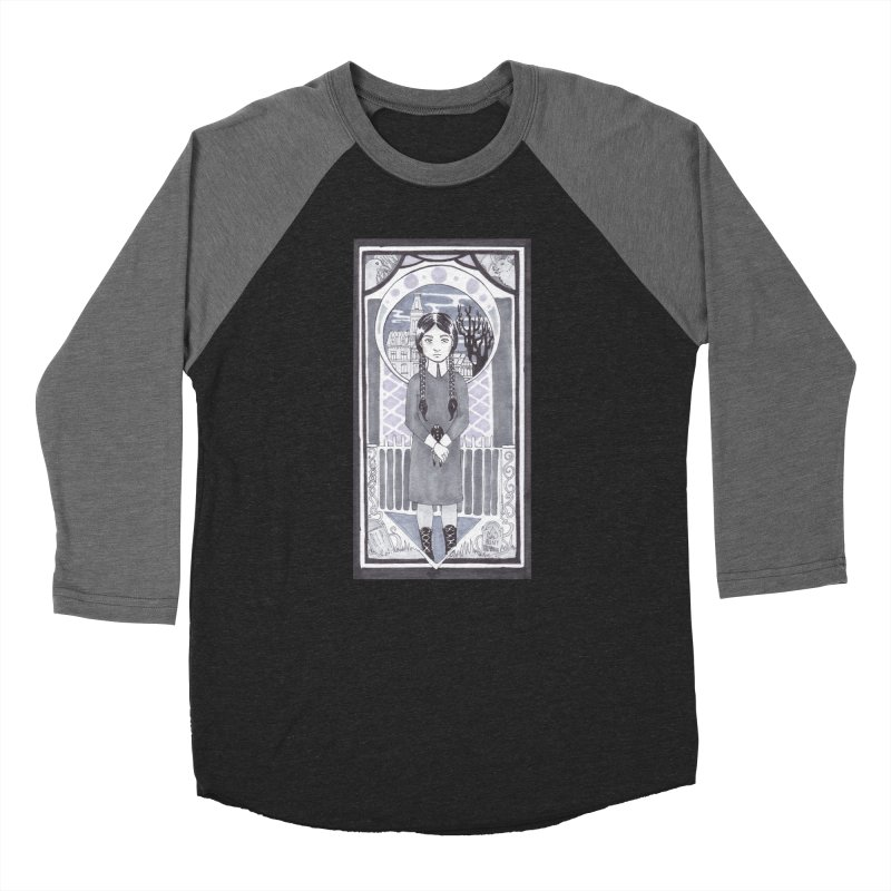 Wednesday Women's Baseball Triblend Longsleeve T-Shirt by ArtemisStudios's Artist Shop
