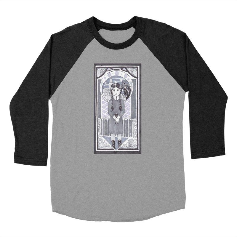 Wednesday Women's Baseball Triblend Longsleeve T-Shirt by ArtemisStudios's Artist Shop