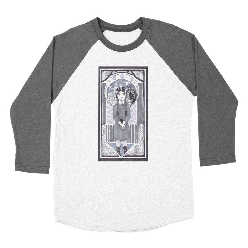 Wednesday Men's Baseball Triblend Longsleeve T-Shirt by ArtemisStudios's Artist Shop