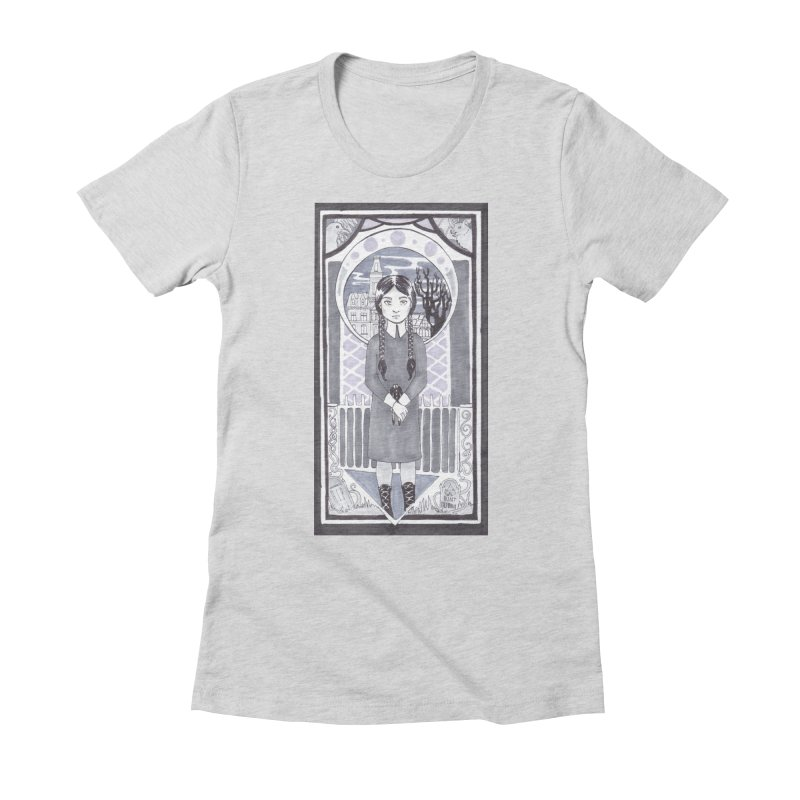 Wednesday Women's T-Shirt by ArtemisStudios's Artist Shop