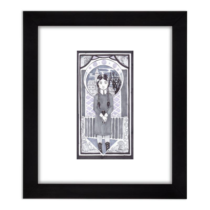 Wednesday Home Framed Fine Art Print by ArtemisStudios's Artist Shop